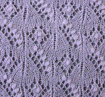 Estonian Lace Flowers Knitting Kingdom