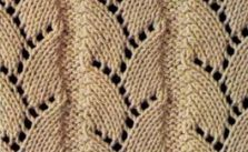 Eyelet and Lace Ladders Free Knit Stitch