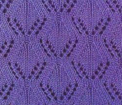 Hourglass Lace Stitch