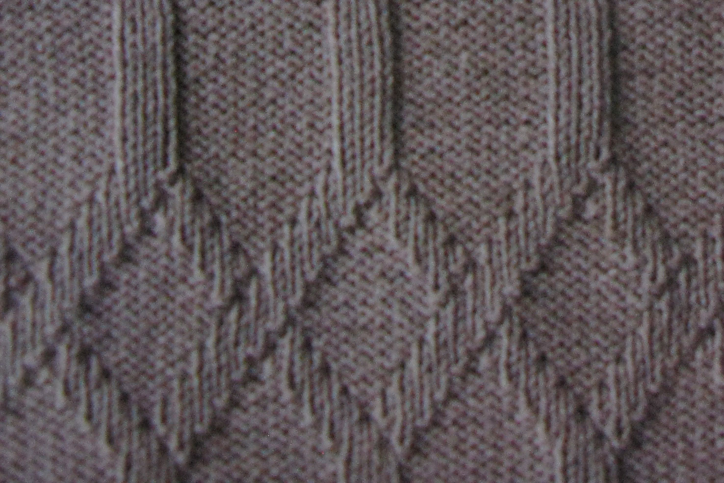 Knitting Undo Purl Stitch : Interlinked Diamonds Knit and Purl Stitch - Knitting Kingdom