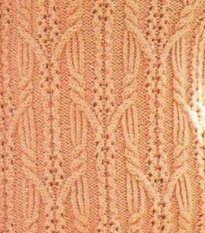 Intertwined Lace Cable Sweater