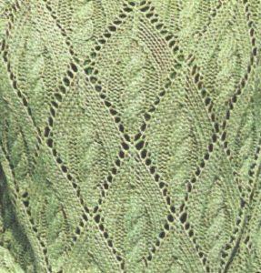 Diamond Lace Knitting Stitches : Lace - Page 7 of 31 - Knitting Kingdom (307 free knitting patterns)