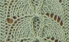 Lace Umberella Knitting Stitch