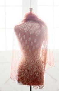 Lace shawl Pattern Diagrams