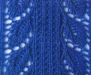 Leaf Panel Knitting Pattern : Lace - Page 12 of 35 - Knitting Kingdom (349 free knitting ...