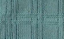 Plaid Texture Knitting Stitch