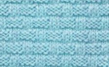 Rectangular Knit and Purl Basket-weave Stitch