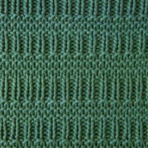 Rib and Garter Knitting Stitch