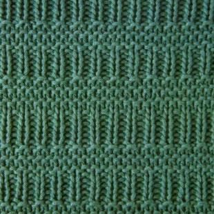 Rib and Garter Knitting Stitch
