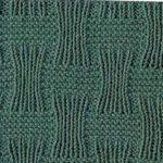 Stingy Basket Weave Knit Stitch