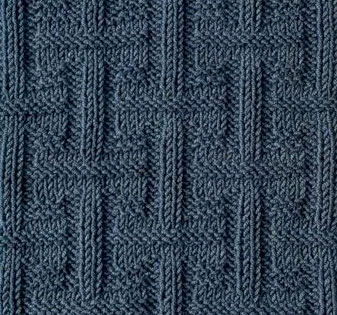 Textured Stitch Knit and Purl