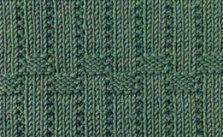 Vertical Basket Weave Knitting Stitch