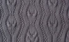 Wavy Cables Knitting Stitch