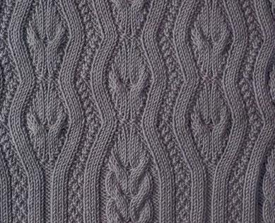 Wavy Cables Knitting Stitch Knitting Kingdom