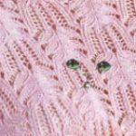 Knitting lace stitch sweater