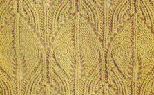 Arising Flame Knitting Stitch
