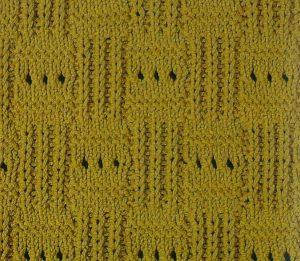 Checkered Stitch Knit
