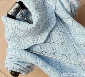Diamond Lace Knit Stitch