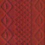 Diamond and Honeycomb Knitting Stitch Panel