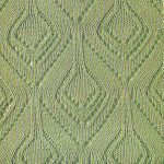 Diamonds Lace Knitting Stitch