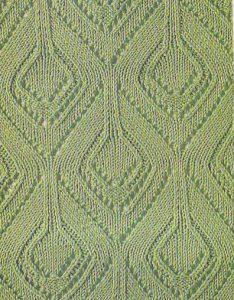 Diamonds Lace Knitting Stitch