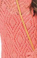 Eyelet Diamonds Knit Stitch