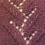 Eyelet Twigs Knitting Stitch