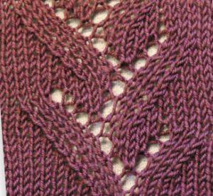 Eyelet Twigs Knitting Stitch
