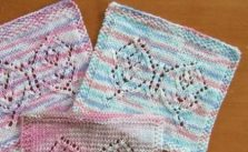 Lace Butterfly Knitting Pattern