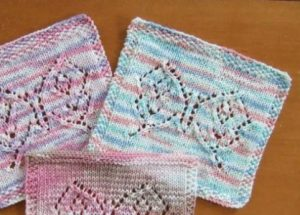 Lace Butterfly Knitting Pattern