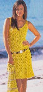 Lace Sun Dress Knitting Pattern