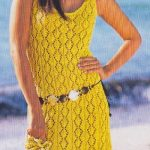 Lace Sun Dress Knitting Pattern