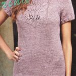 Leaf Tunic Knitted Dress