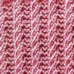 Rib Twist Knitting Stitch