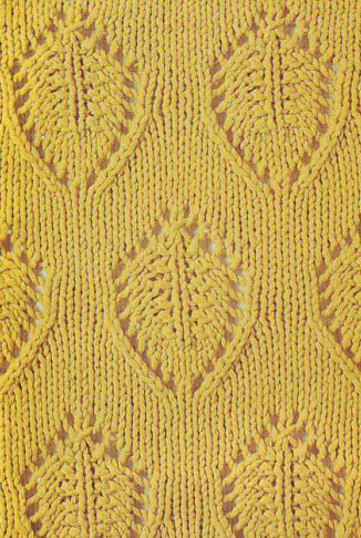 Shield Knitting Stitch