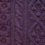 Three Cable Panel Knitting Stitch