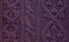 Three Cable Panel Knitting Stitch