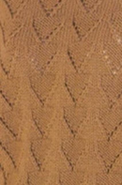 V Shaped Lace Knitting Stitch
