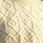 Aran Diamonds Sweater and Stitch