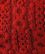 Honeycombs Aran Knit