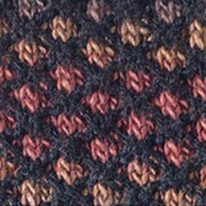 2 Color Lattice Stitch Free Knitting Pattern