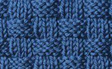 Traditional Basketweave Knitting Stitch