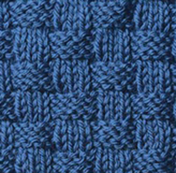 Traditional Basketweave Knitting Stitch - Knitting Kingdom
