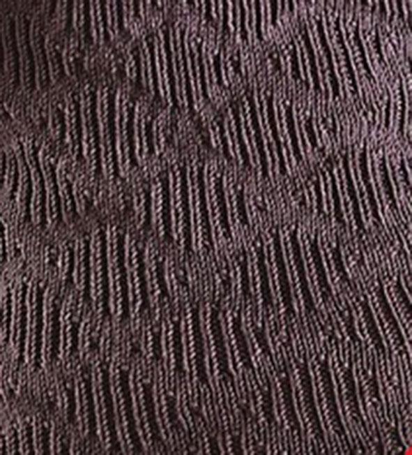 Diamond Pattern Knitting : Knit and Purl Diamond Stitch Pattern - Knitting Kingdom