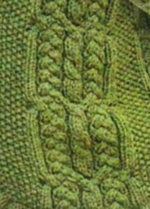 Braids and Cables Knitting Stitch