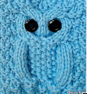 Cable Owl Knitting Stitch