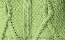 Cable Ribbon Knit Stitch