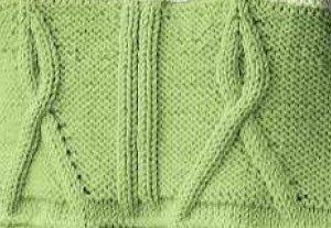 Knitting Ribbon Stitch : Cables - Page 3 of 20 - Knitting Kingdom (200 free knitting patterns)