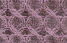 Cables Circles Knitting Stitch