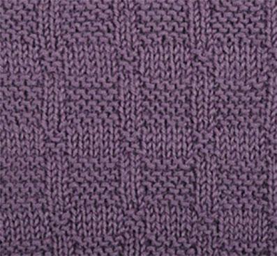 Tag Checkerboard Knitting Pattern Knitting Kingdom
